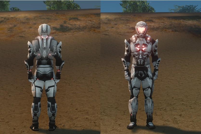 Roy Vulker's Armor – UPDATE