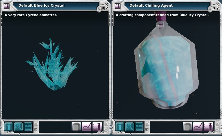 Blue Icy Crystal finally discovered!