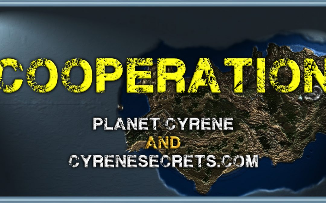 BIG NEWS! – I have started a cooperation with Planet Cyrene !